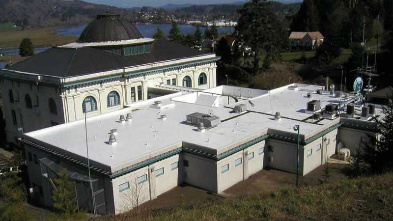 Pacific County Public Safety Building - Success Story of IB Roof